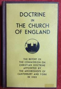 Doctrine In The Church Of England
