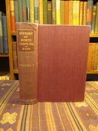 History of North Carolina.  Volume I (Only) From 1584 to 1783