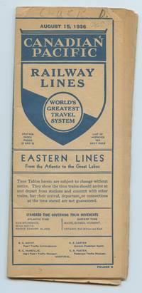 image of Canadian Pacific Railway Lines. Eastern Lines From the Atlantic to the Great Lakes