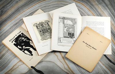 4 vols. Berkeley: California Bookplate Society (Sheldon Cheney), 1906-1907. 4 vols, 12mo, (16); (16)...