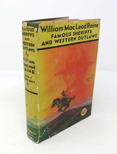 Garden City: Doubleday Doran, 1929. 1st edition (Adams SIX-GUNS 1784). Green cloth binding with oran...