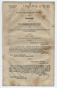 [drop-title] Survey of Hudson River. Letter from the Secretary of War, transmitting Report of Colonel of Corps of Topographical Engineers, relative to the examination and survey of the Hudson river, &c. January 18, 1844. Read, and laid upon the table.