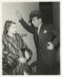 image of The Big Sleep (Original photograph of Lauren Bacall and Humphrey Bogart on the set of the 1946 film, struck in 1972)
