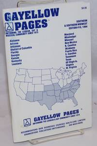 image of Gayellow Pages: the Southern & Southern Midwest Edition #10, 1994