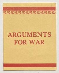 image of Arguments for War