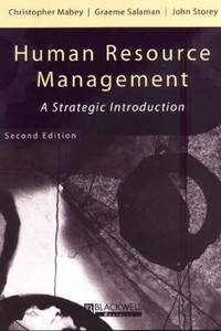 image of Human Resource Management : A Strategic Introduction