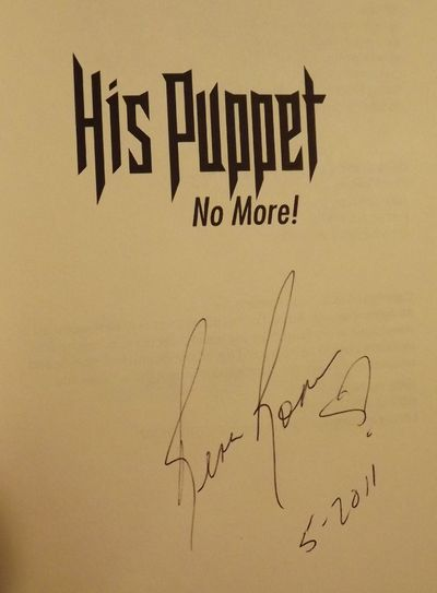 ROMANO, Rena. HIS PUPPET NO MORE. . 8vo., pictorial wraps; 194 pages. First Edition. Signed by Roman...
