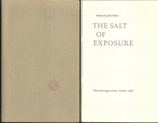 SALT OF EXPOSURE Poems, Finley, John