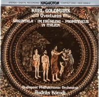 Overtures - Sakuntala, Op.13; Im Fruhling, Op.36; Der gefesselte Prometheus, Op.38; In Italien, Op.49 [CD - Music Compact Disc]