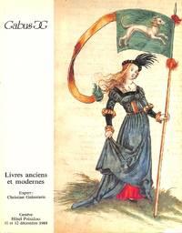 Sale 11-12 Dec. 1989: Livres Rares et Précieux.