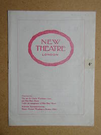 Blood and Sand By Tom Cushing. Theatre Programme.