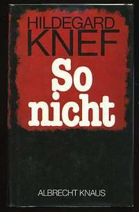 Zurich: Albrecht Knaus, 1982. Hardcover. Fine/Fine. First edition. Text in German. Fine in fine dust...