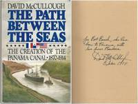 image of The Path Between the Seas: The Creation of the Panama Canal 1870-1914 by David McCullough (1977) Hardcover