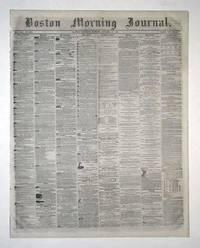 image of Boston Morning Journal Newspaper, October 26, 1861 (Civil War)