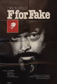 F for Fake (Original poster from the 1973 film) by  Elmyr de Hory (starring)  Francois Reichenbach - 1973 - from Royal Books, Inc. (SKU: 149077)