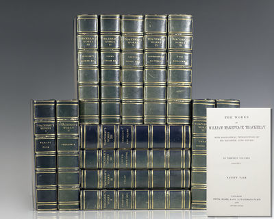 London: Smith, Elder and Co., 1900-1902. The Biographical edition of the Works of William Makepeace ...