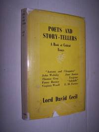 POETS AND STORY-TELLERS  - A BOOK OF CRITICAL ESSAYS