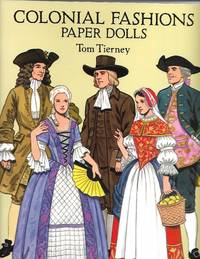 image of Colonial Fashions Paper Dolls