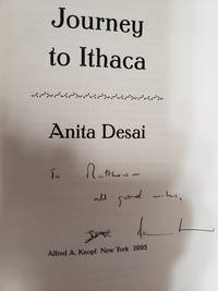 JOURNEY TO ITHACA (SIGNED) by ANITA DESAI - Signed First Edition - Aug 15, 1995 - from Charm City Books (SKU: BS13703X)