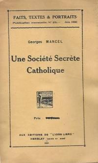 Faits, Textes & Portraits Publication  mensuelle N° 26 - Une Société...