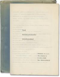 The Magnificent Swindlers (Original treatment script for an unproduced film)