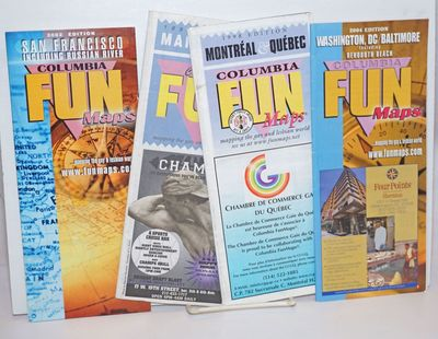Maplewood: Columbia FunMaps, 2004. Four folded color maps/directory brochures, two on glossy stock, ...
