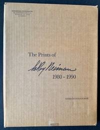 image of The Prints of LeRoy Neiman: A Catalogue Raisonne of Serigraphs and Etchings 1980-1990 (In the Publisher's Original Shipping Carton)