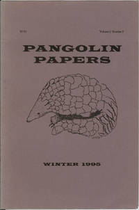 Pangolin Papers : Winter 1995 : Volume 2, Number 2