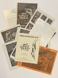 [1964 DRIVE-IN THEATER EXPLOITATION KIT]. The Naked Witch. Exploitation Kit