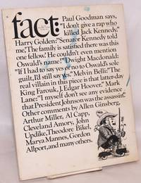 image of Fact, an antidote to the timidity and corruption of the American press, volume three issue six, Who killed Kennedy? November - December 1966