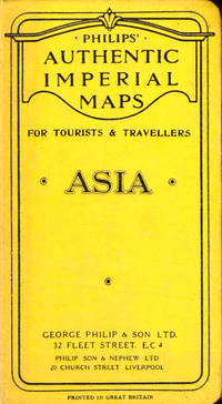 Philips Authentic Imperial Maps For Tourists and Travelers: Asia