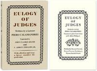 Eulogy of Judges. Paperback edition