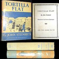 1935 TORTILLA FLAT JOHN STEINBECK 1ST EDITION 1ST ISSUE DJ 1/4K COPIES MONTEREY DUST JACKET CALIFORNIA
