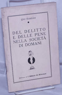 image of Del Delitto e Delle Pene Nella Società di Domani