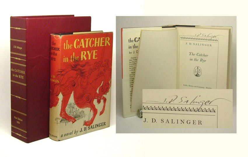 a book review of jd salingers novel the catcher in the rye Alhtough jd salinger is best known for the catcher in the rye, here is  alsen,  eberhard, salinger's glass stories as a composite novel, whitson (troy, ny),  1983  new york herald tribune book review, july 15, 1951.