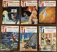 IF. Worlds of Science Fiction. 1957. (Six Issues, complete year)