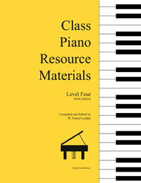 Class Piano Resource Materials, Level Four
