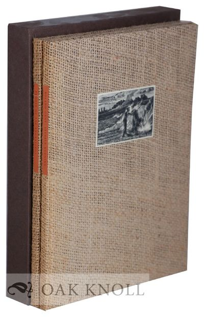 Manor Farm, Andoversford, England: The Whittington Press, 1982; small 4to. coarse flax canvas, paper...