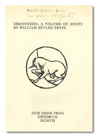 Essay On Global Warming In English Discoveries A Volume Of Essays By William Butler Yeats  Hardcover     From William Reese Company  Literature  Essays About Science also English Essay Com Discoveries A Volume Of Essays By William Butler Yeats  Hardcover  Examples Of Argumentative Thesis Statements For Essays