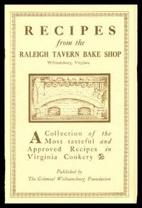 image of RECIPES FROM THE RALEIGH TAVERN BAKE SHOP