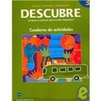 DESCUBRE, nivel 3 - Lengua y cultura del mundo hispánico - Student Activities Book