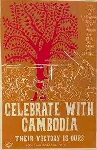 image of Celebrate with Cambodia: Their victory is ours [screenprint poster]