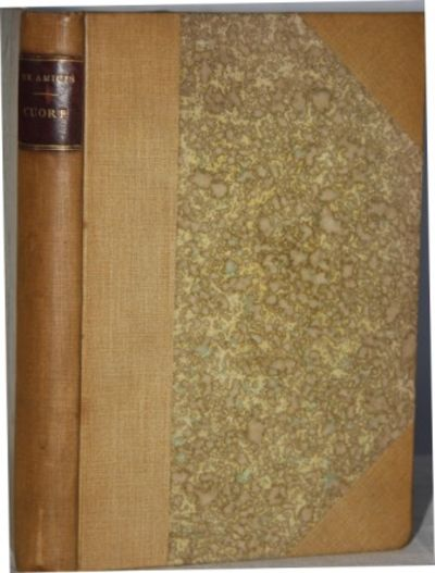 Milano: Fratelli Treves, 1892. Cloth. Very Good. 8vo. 338 pp. 140 edizione. Pages toned yet clean. C...