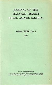 Journal Volume XXXV Part 1 - 1962