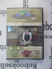 """Sarah Pearce - Video Art Lessons""""Ceramics: Throwing 101"""" DVD"""