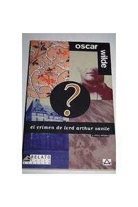 Le crime de Lord Arthur Savile by  Oscar Wilde - Paperback - from World of Books Ltd and Biblio.com