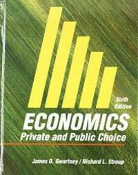 image of Economics: Private and Public Choice