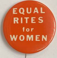 image of Equal rites for women [pinback button]