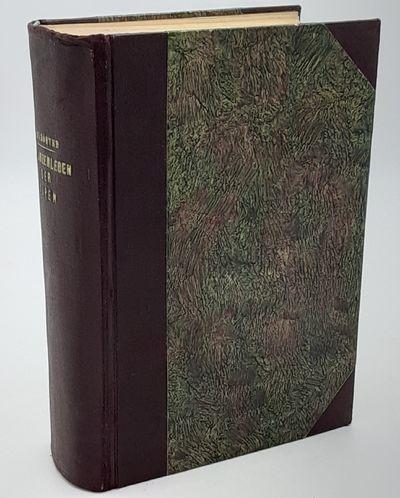 Zurich. : Albert Raustein. , 1926. 2nd edition.. Contemporary half burgundy cloth over mottled board...