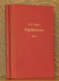 LEHRBUCH DER ORGELBAUKUNST BANDS (VOLS.) 1 AND 2 (INCOMPLETE SET)